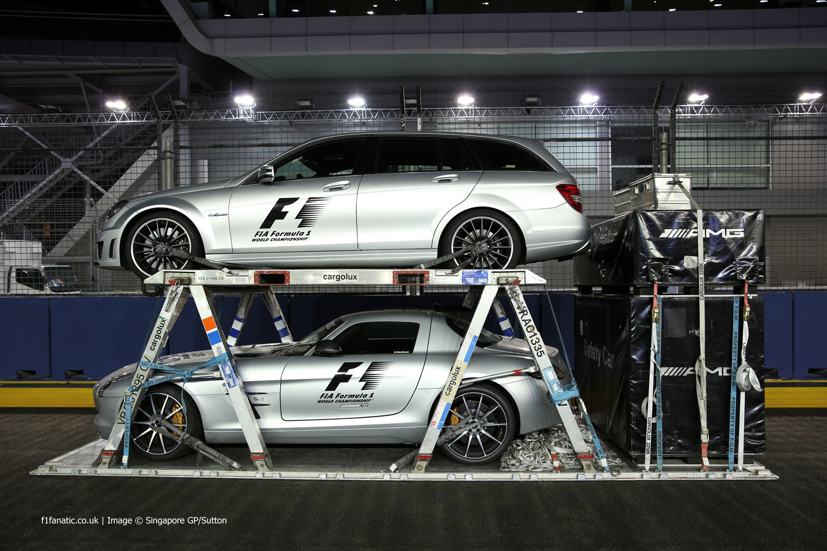 Safety Car And Medical Car Singapore 2014 183 F1 Fanatic