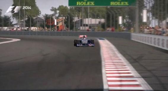 Russian Grand Prix track revealed in F1 2014 video lap