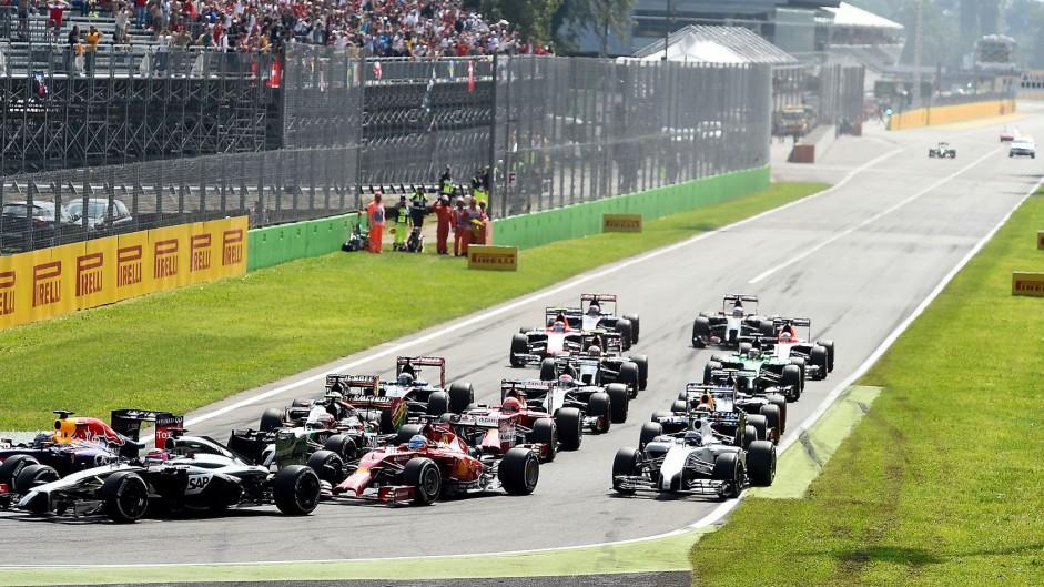 Start, Monza, 2014