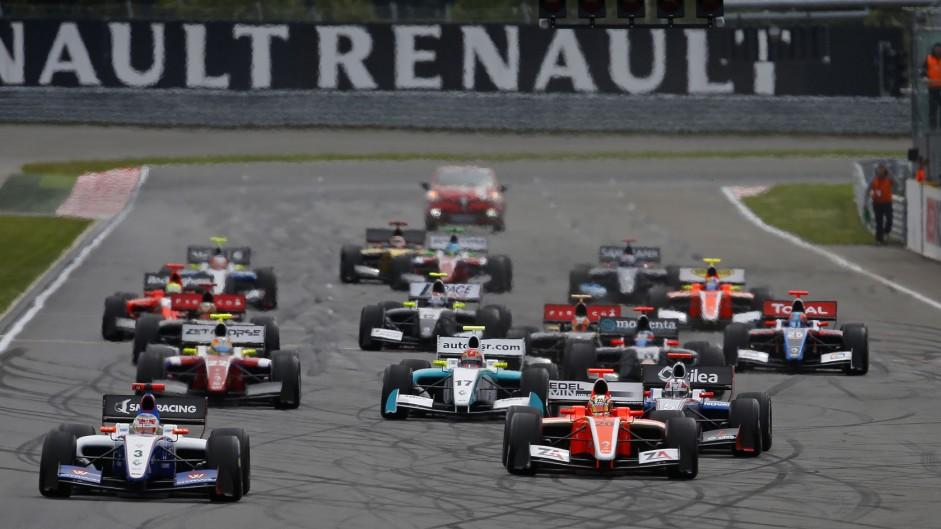 Start, Formula Renault 3.5, Moscow, 2014