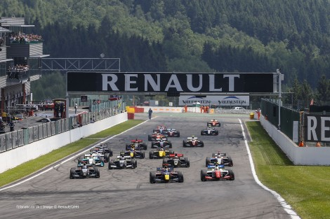 Start, Formula Renault 3.5, Spa-Francorchamps, 2014
