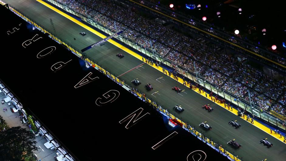 Singapore GP falls short of high 2014 standard