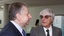 Jean Todt, Bernie Ecclestone, 2014
