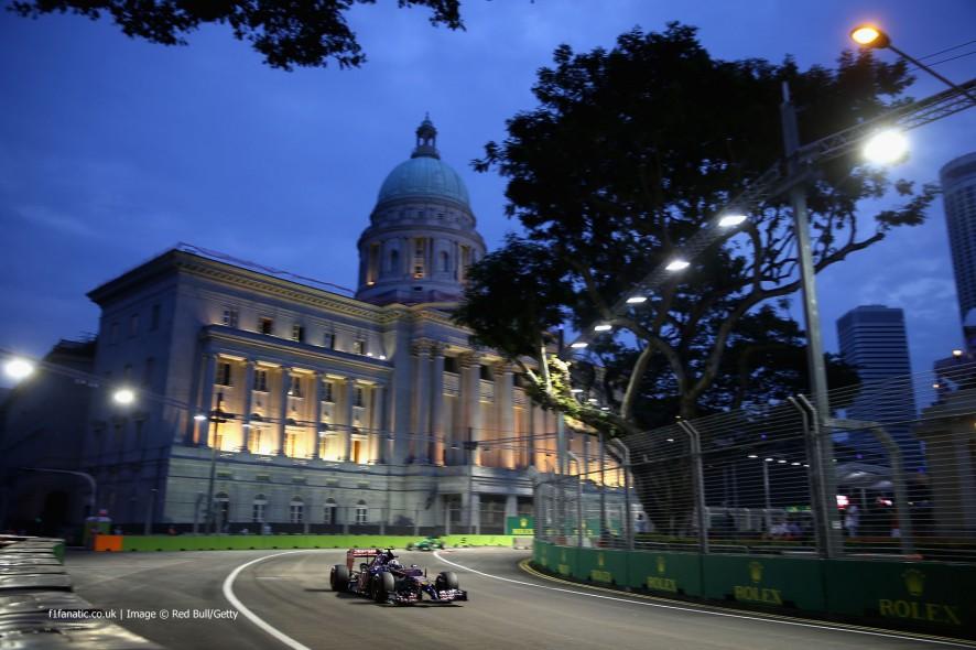 Daniil Kvyat, Toro Rosso, Singapore, 2014
