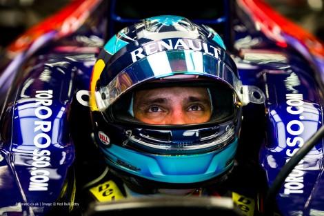 Jean-Eric Vergne, Toro Rosso, Singapore, 2014