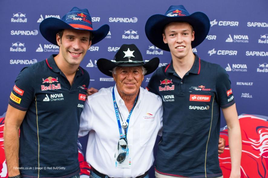 Jean-Eric Vergne, Mario Andretti, Daniil Kvyat, Monza, 2014