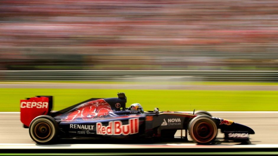 Jean-Eric Vergne, Toro Rosso, Monza, 2014