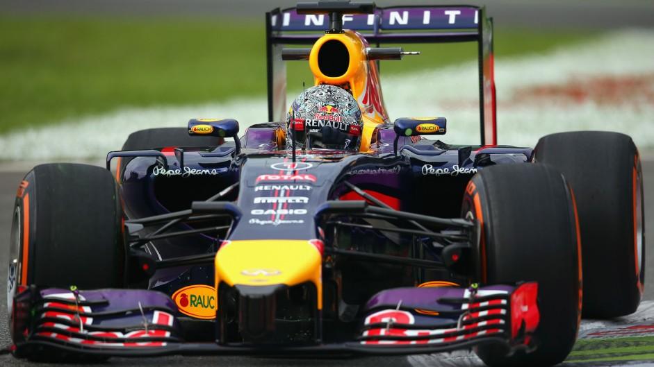 Sebastian Vettel, Red Bull, Monza, 2014