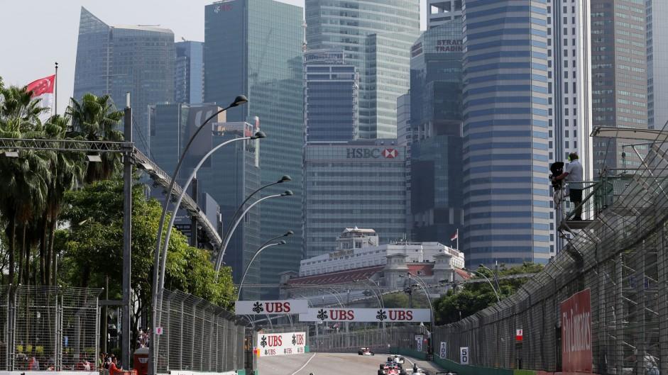 Richard Eye, Williams FW08, Singapore, 2014