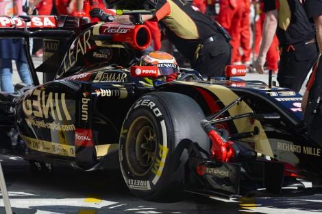 Pastor Maldonado, Lotus, Sochi Autodrom, 2014