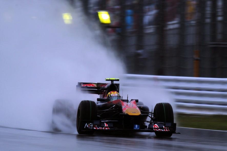 Jaime Alguersuari, Toro Rosso, Suzuka, 2010