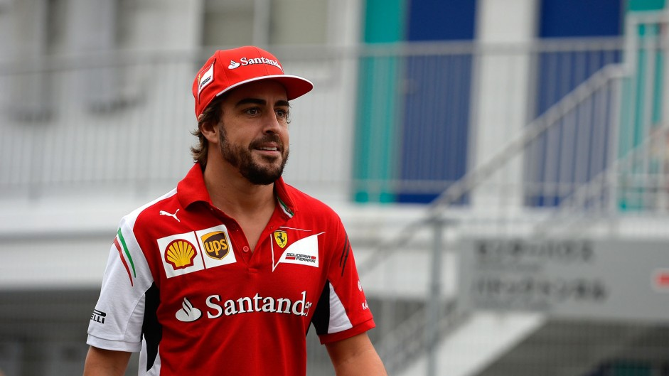 """Alonso hints at """"obvious"""" plans for 2015"""