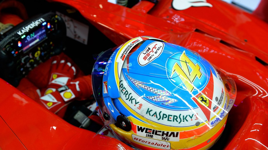 Alonso expects processional race