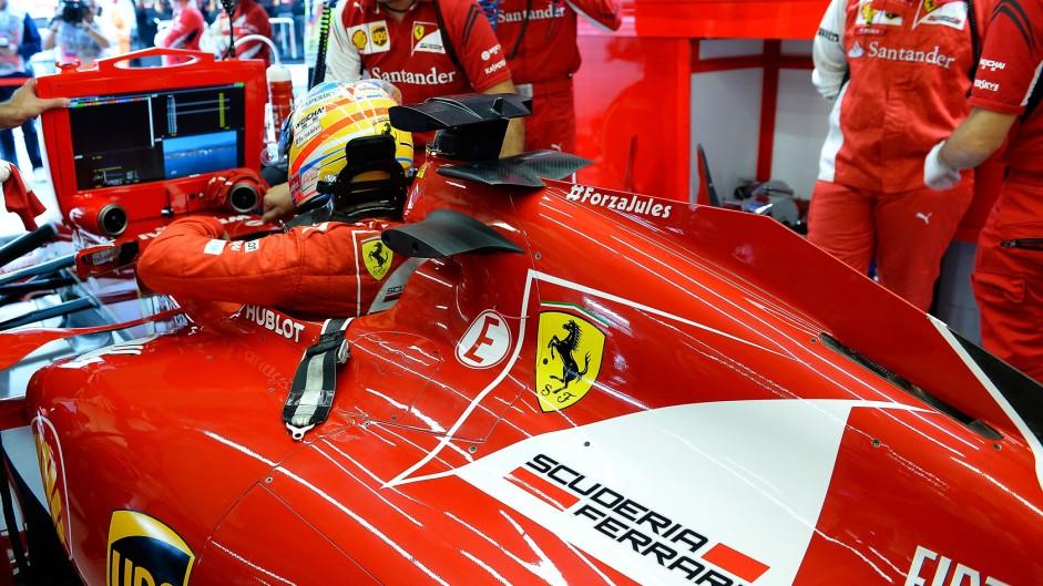 Fernando Alonso, Ferrari, Sochi Autodrom, 2014