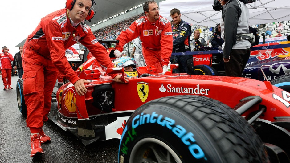 Ferrari's record points streak comes to an end