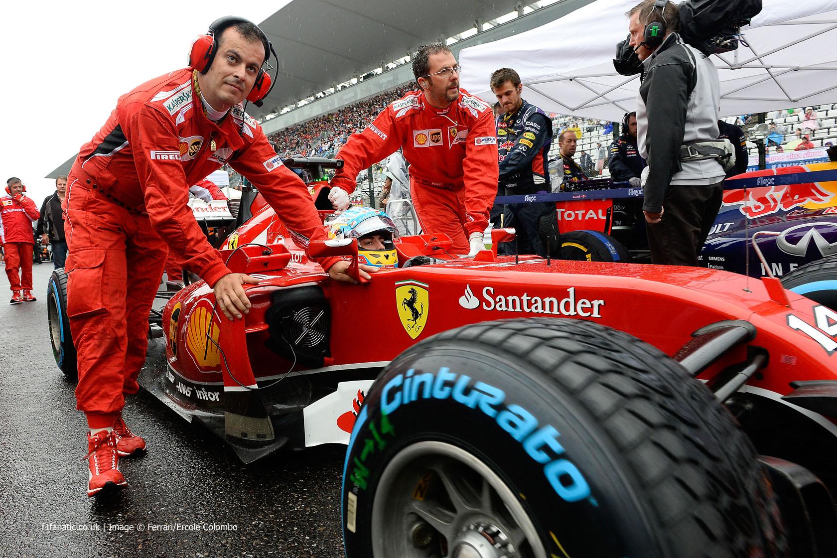 Fernando Alonso, Ferrari, Suzuka, 2014