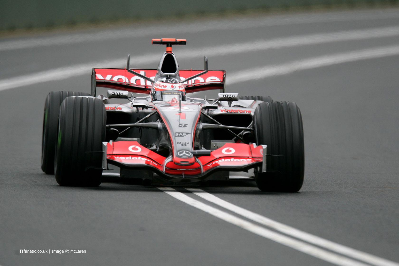 Fernando Alonso, McLaren, Melbourne, 2007
