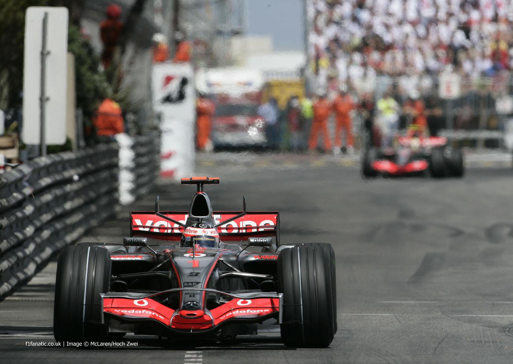 Fernando Alonso, McLaren, Monte-Carlo, 2007