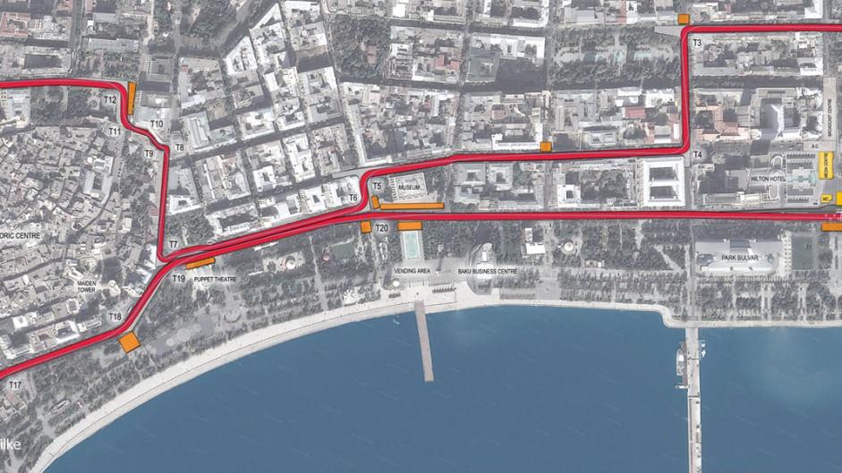 New Tilke images reveal Baku track's narrow corners