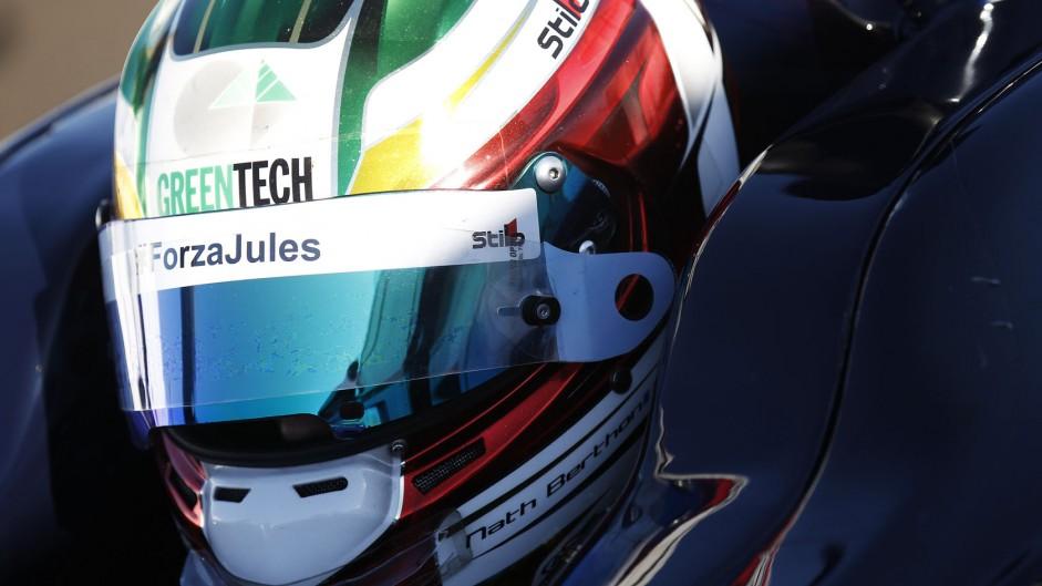 Nathanael Berthon, GP2, Sochi Autodrom, 2014