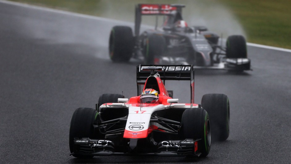 Bianchi's crash overshadows Suzuka race