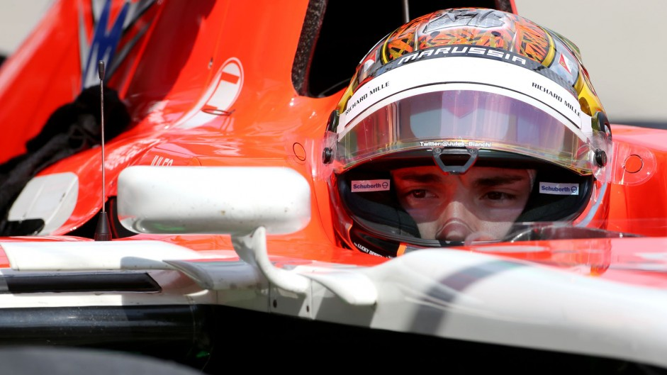 Marussia to run a single car in Russia out of respect for Bianchi