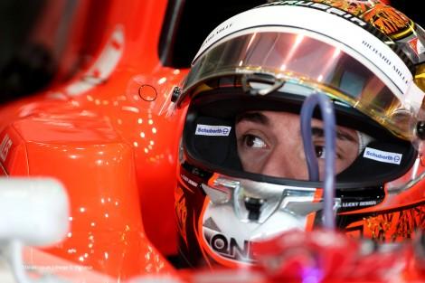 Jules Bianchi, Marussia, Suzuka, 2014