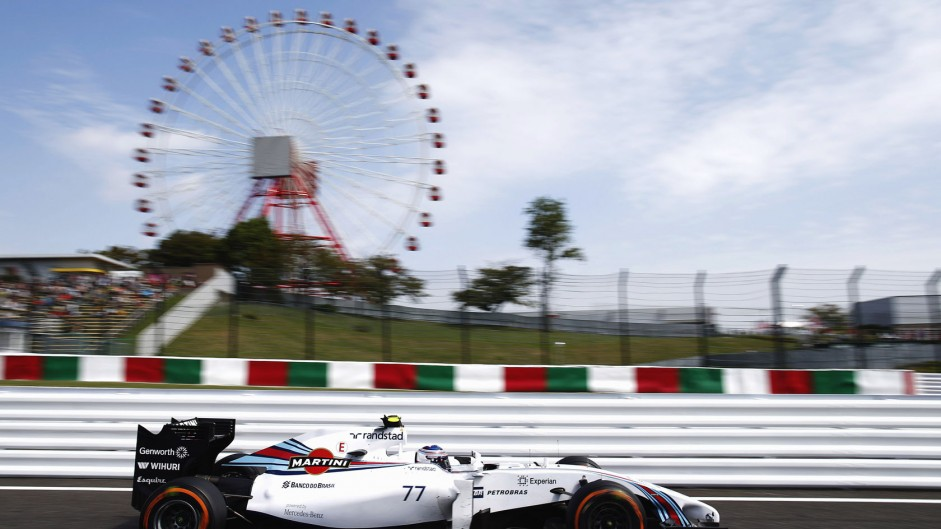 Williams reveal pace in the calm before the storm
