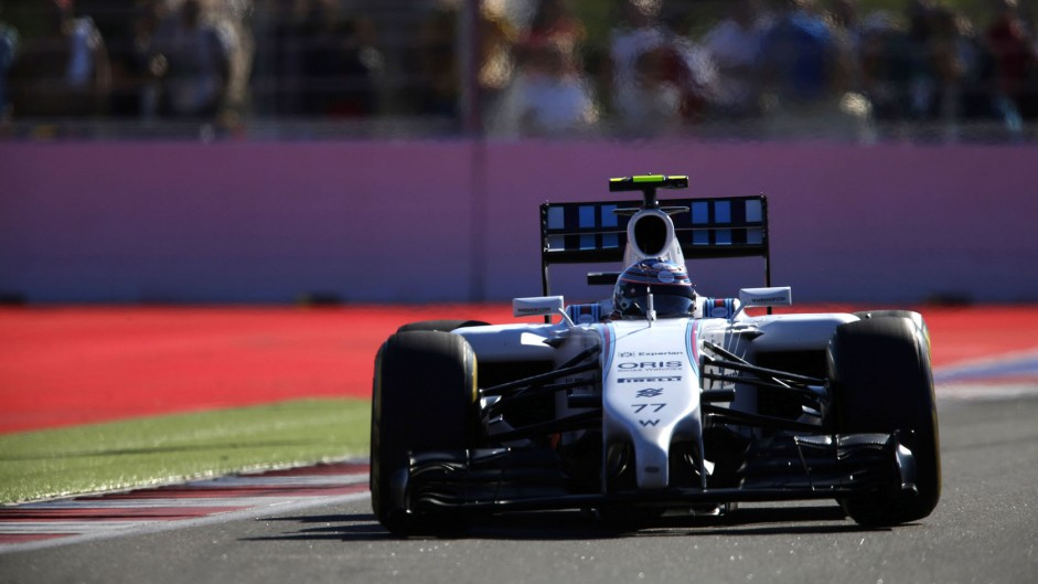 Williams surprised by Mercedes pace
