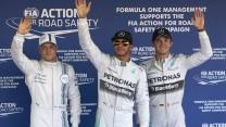 Valtteri Bottas, Lewis Hamilton, Nico Rosberg, Sochi Autodrom, 2014