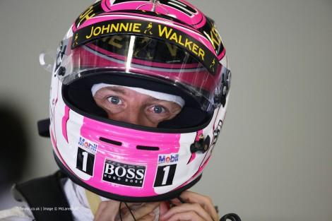 Jenson Button, McLaren, Suzuka, 2014