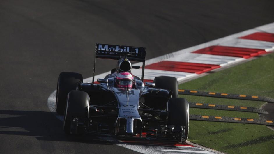 Jenson Button, McLaren, Sochi Autodrom, 2014