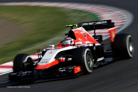 Max Chilton, Marussia, Suzuka, 2014