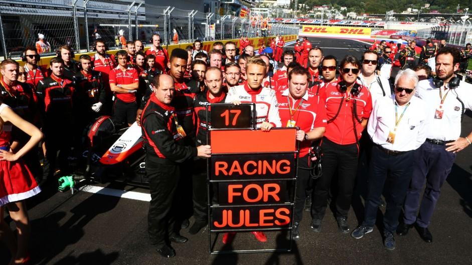 A cruel end to Marussia's F1 hopes