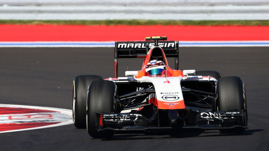 Chilton delayed by driveshaft problem in sole Marussia