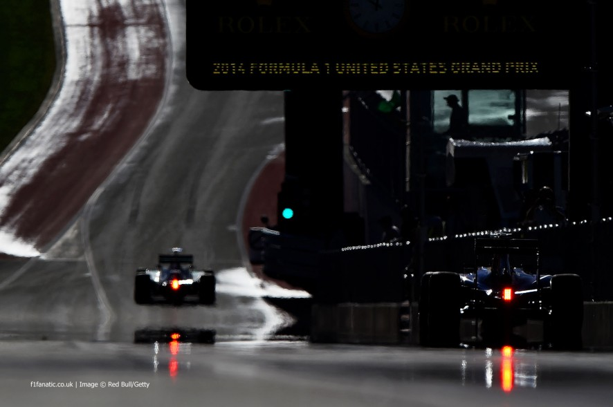 F1 Grand Prix of USA - Practice