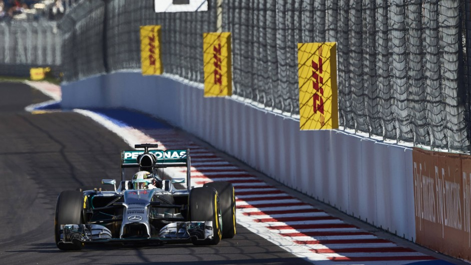 2014 Russian Grand Prix grid