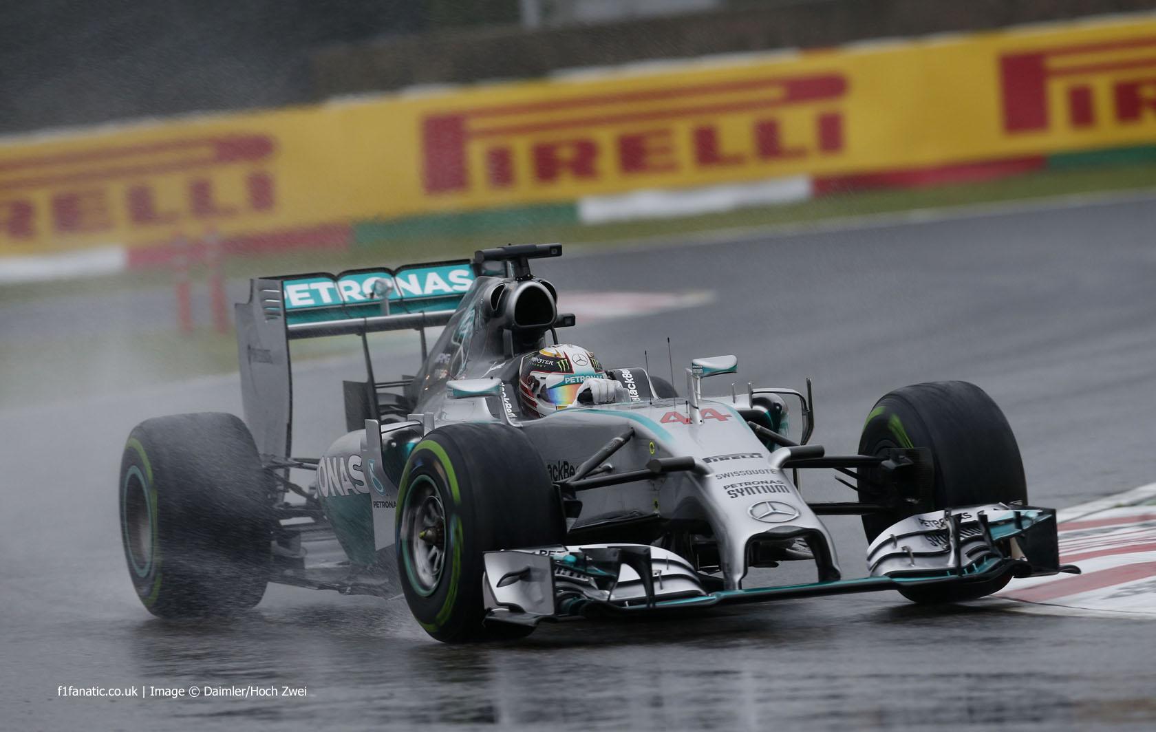 Hamilton and Vettel want wet tyre improvements