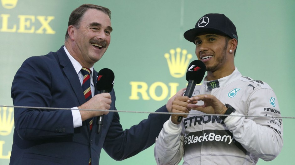 'I'd match Hamilton's lap times pretty quickly' – Mansell