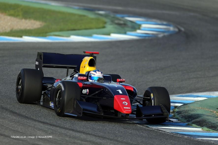 Nyck de Vries, DAMS, Jerez, 2014