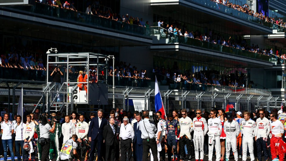 Drivers, Sochi Autodrom, 2014