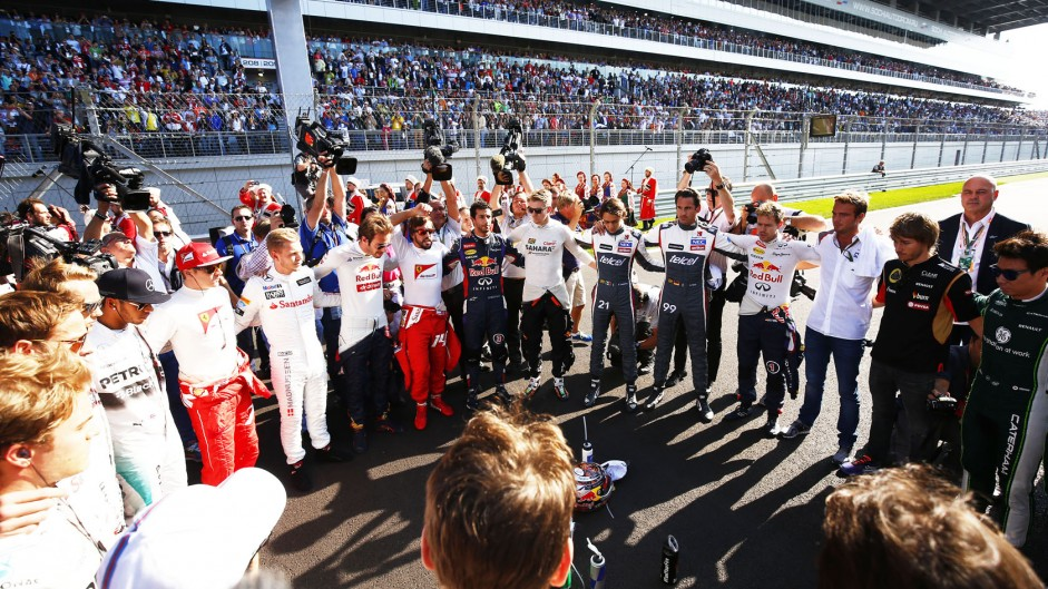 Top ten pictures from the 2014 Russian Grand Prix