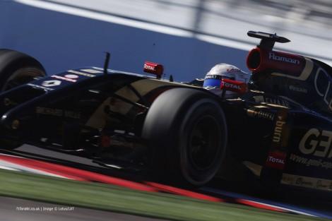 Romain Grosjean, Lotus, Sochi Autodrom, 2014