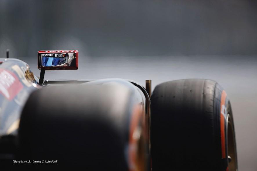 Romain Grosjean, Lotus, Suzuka, 2014
