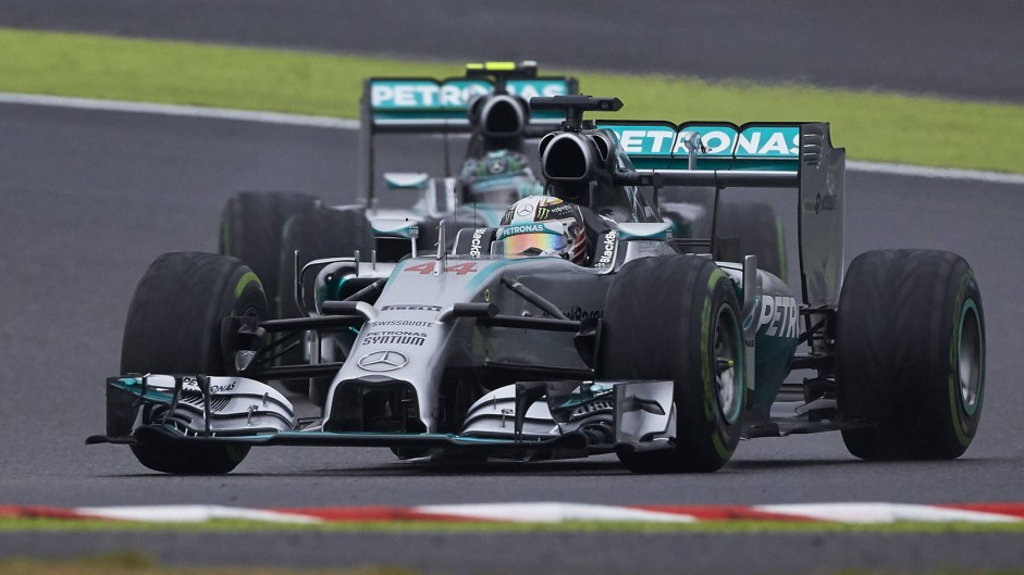 Hamilton's pure pace proves too much for Rosberg