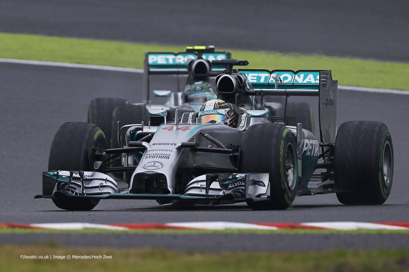 Lewis Hamilton, Mercedes, Suzuka, 2014