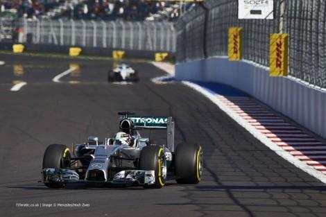 Lewis Hamilton, Mercedes, Sochi Autodrom, 2014