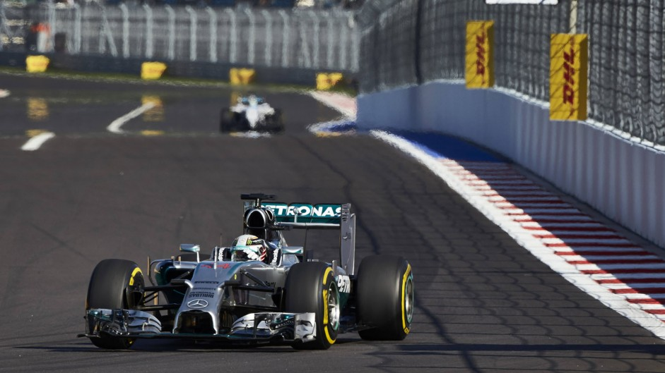 Hamilton spins off after setting fastest time
