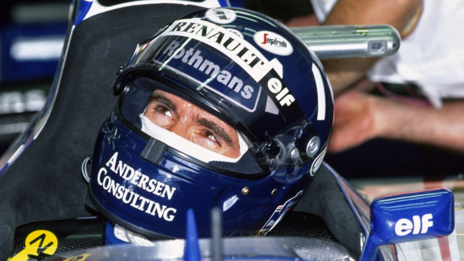 Hill denies Schumacher after Brundle's crash disrupts race