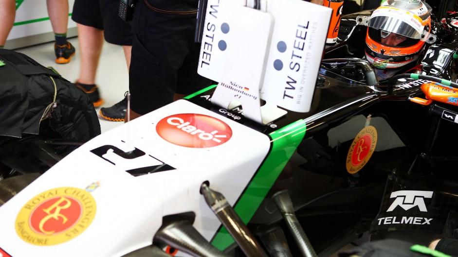 Grid drops for Hulkenberg and Maldonado